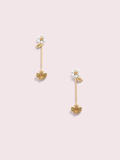 All Abuzz Bee Linear Earrings