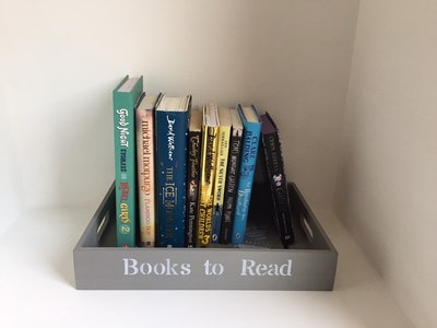 """""""Book To Read"""" Tray"""