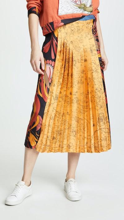 Ouiston Pleat Front Skirt