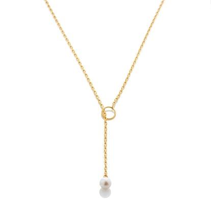 Pearl Chain Lariat