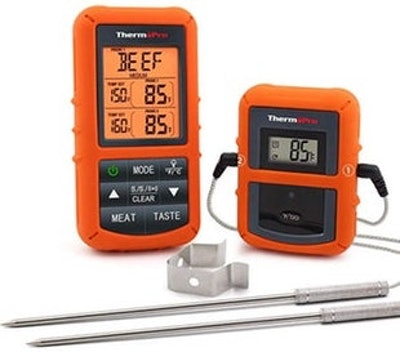 ThermoPro TP20 Remote Digital Cooking Thermometer With Dual Probe