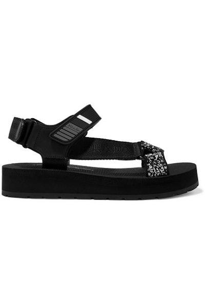 Logo-embossed Sandals