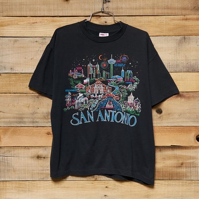 Vintage San Antonio City Map Tee