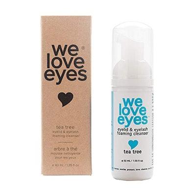 We Love Eyes Foaming Eyelid Cleanser