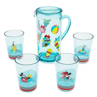 Mickey Mouse and Friends Pitcher Set - Disney Eats