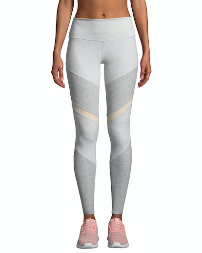 Sheila High-Waist Mesh Panel Leggings