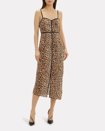 Abir Leopard Dress