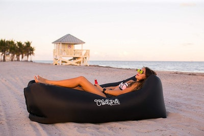 Chill Pill Inflatable Lounger