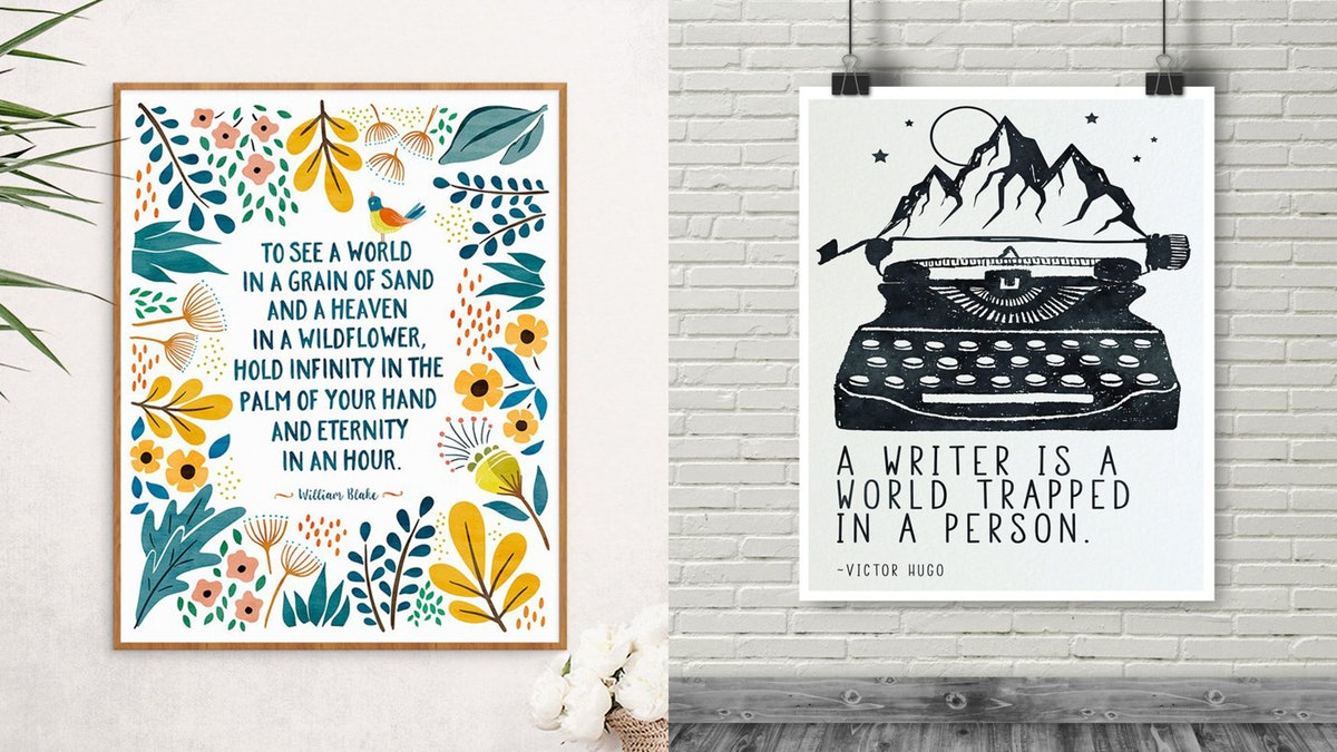 20 Literary Prints For Your Gallery Walls, All For Under $25