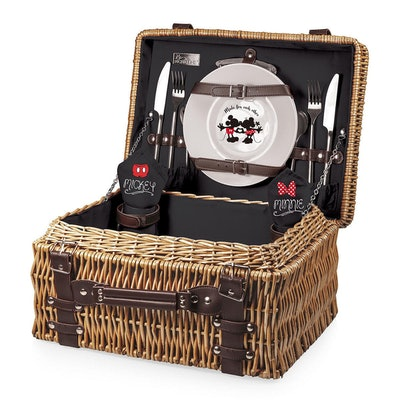 Mickey and Minnie Mouse Picnic Basket