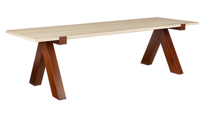 Camas Outdoor Wood Dining Table