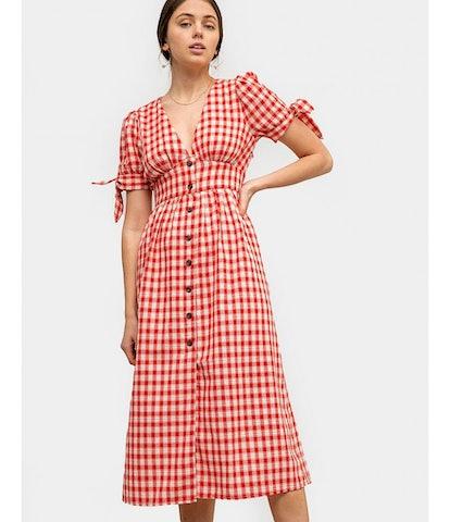 Sorrento Gingham Midi Dress