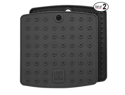 Love This Kitchen Silicone Trivet & Hot Pads (2 Pack)