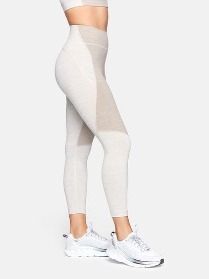 TechSweat 3/4 Two-Tone Leggings