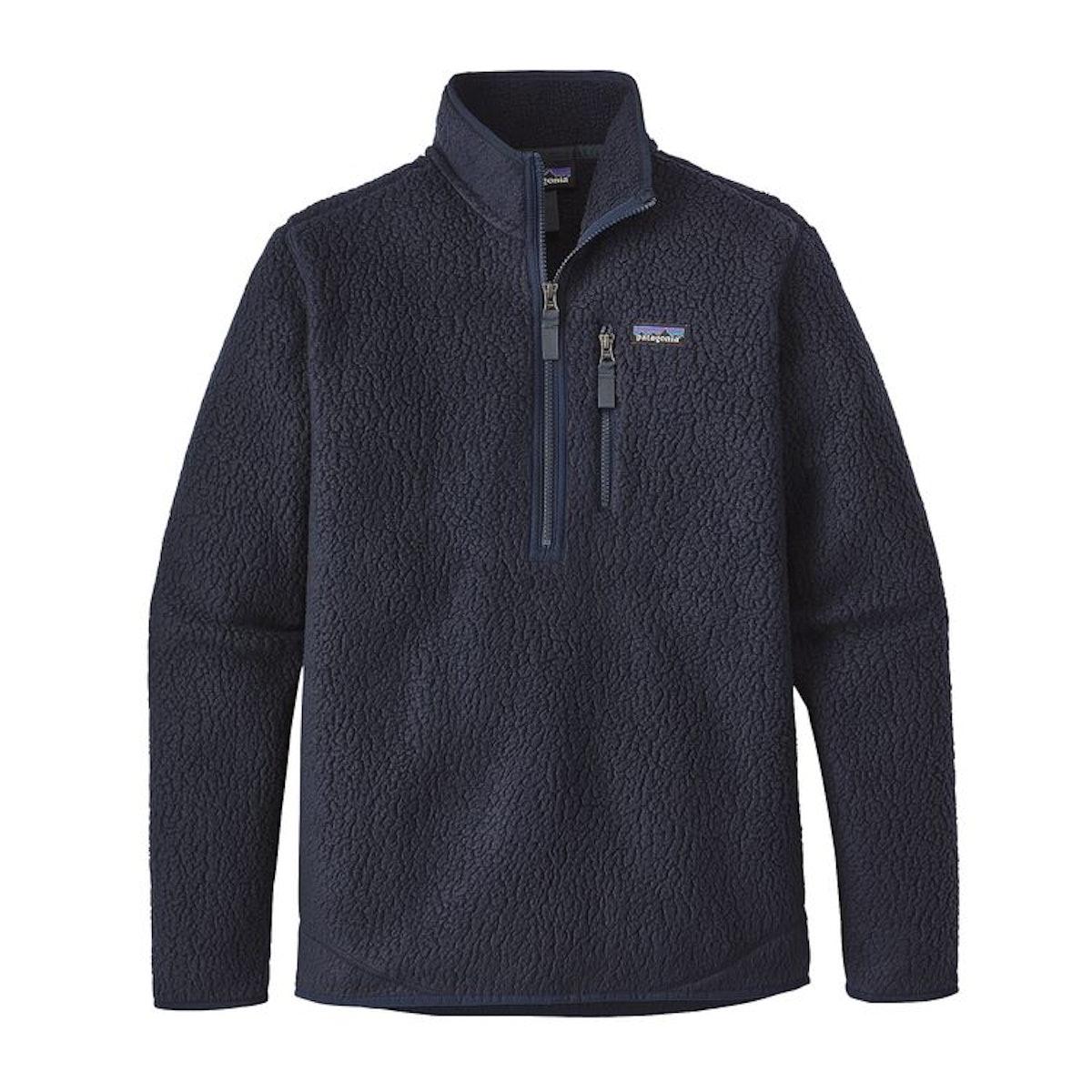 Retro Pile Fleece Pullover