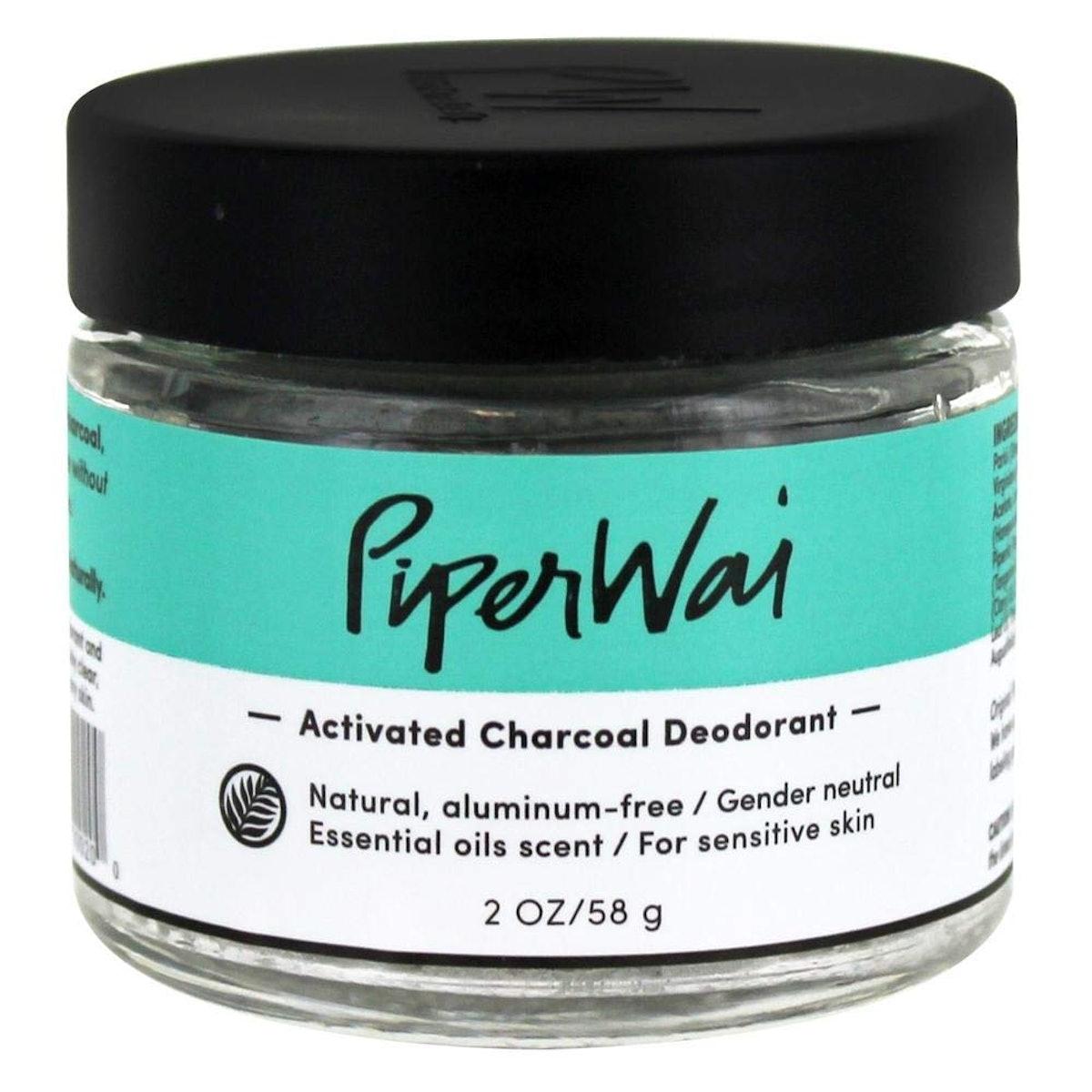 PiperWai Charcoal Deodorant