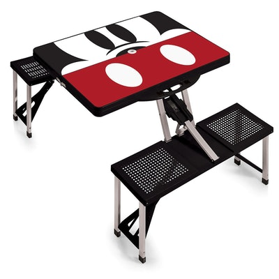 Mickey Mouse Picnic Table with Seats