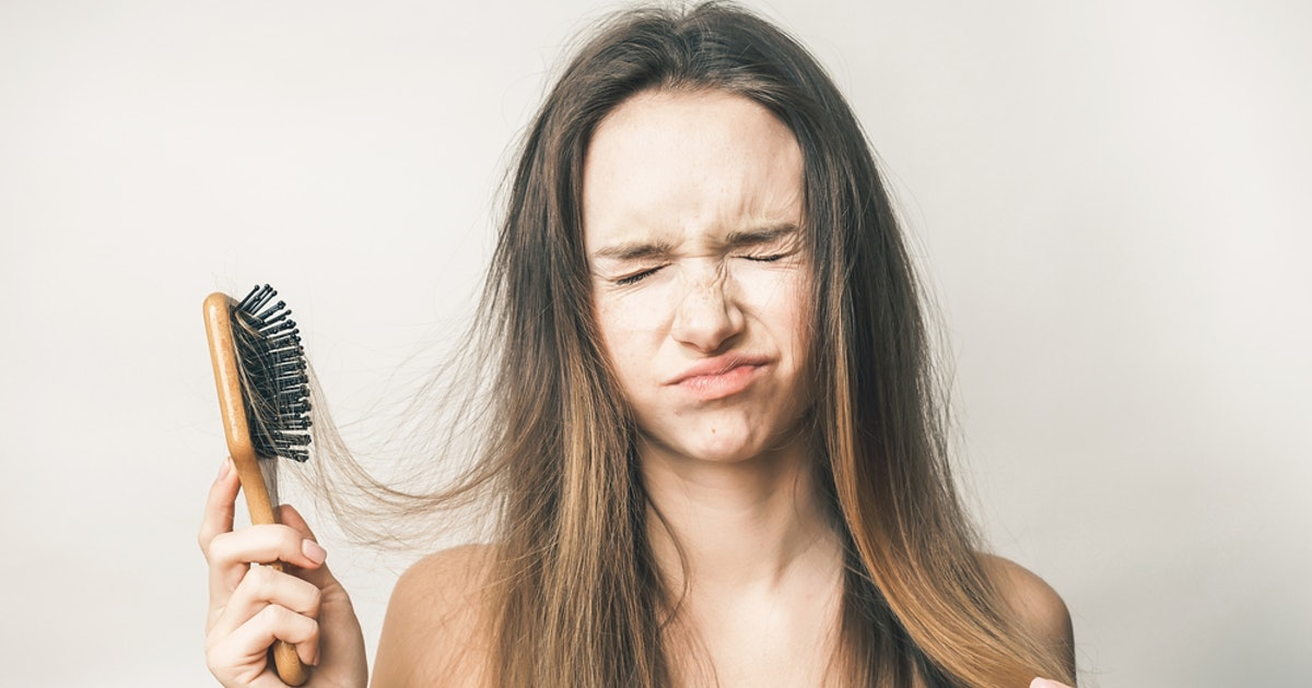 7 Surprising Things You Don't Realize Can Cause Your Hair To Fall Out