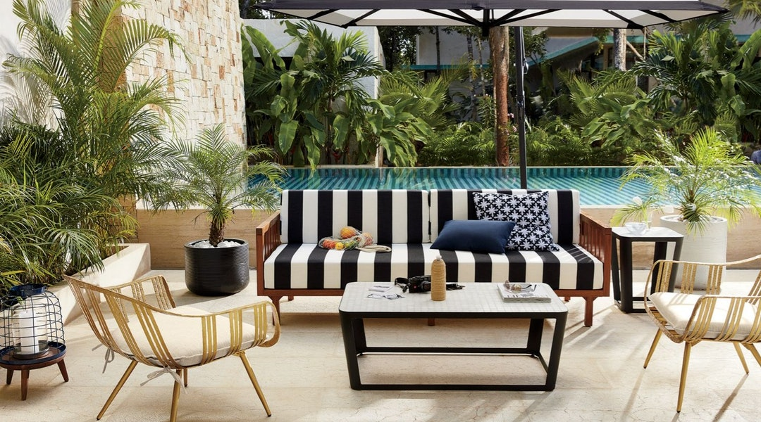 Cb2 S Outdoor Furniture Sale Features Up To 20 Percent Off
