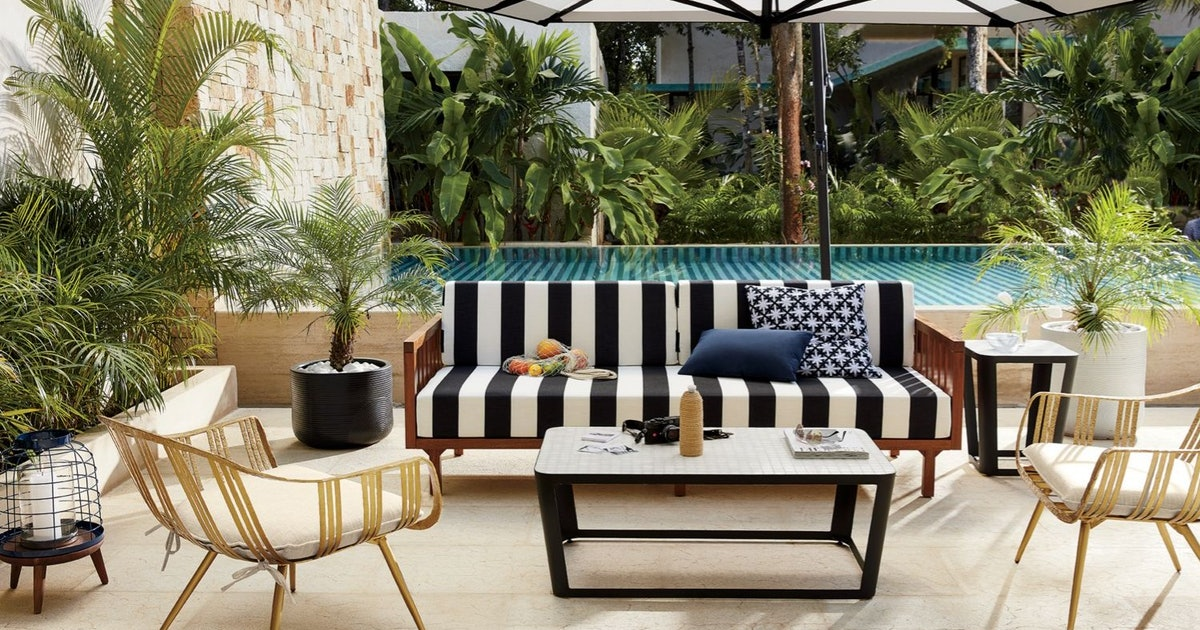 Everything Under 250 Shop Furniture For Every Room: CB2's Outdoor Furniture Sale Features Up To 20 Percent Off