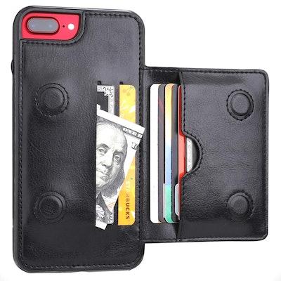 KIHUWEY iPhone Wallet Case