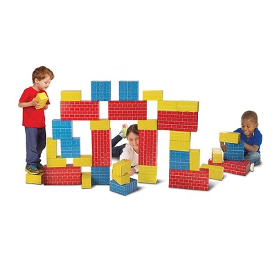Melissa & Doug Jumbo Building Blocks