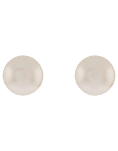 Sterling Silver Freshwater Pearl Stud Earrings