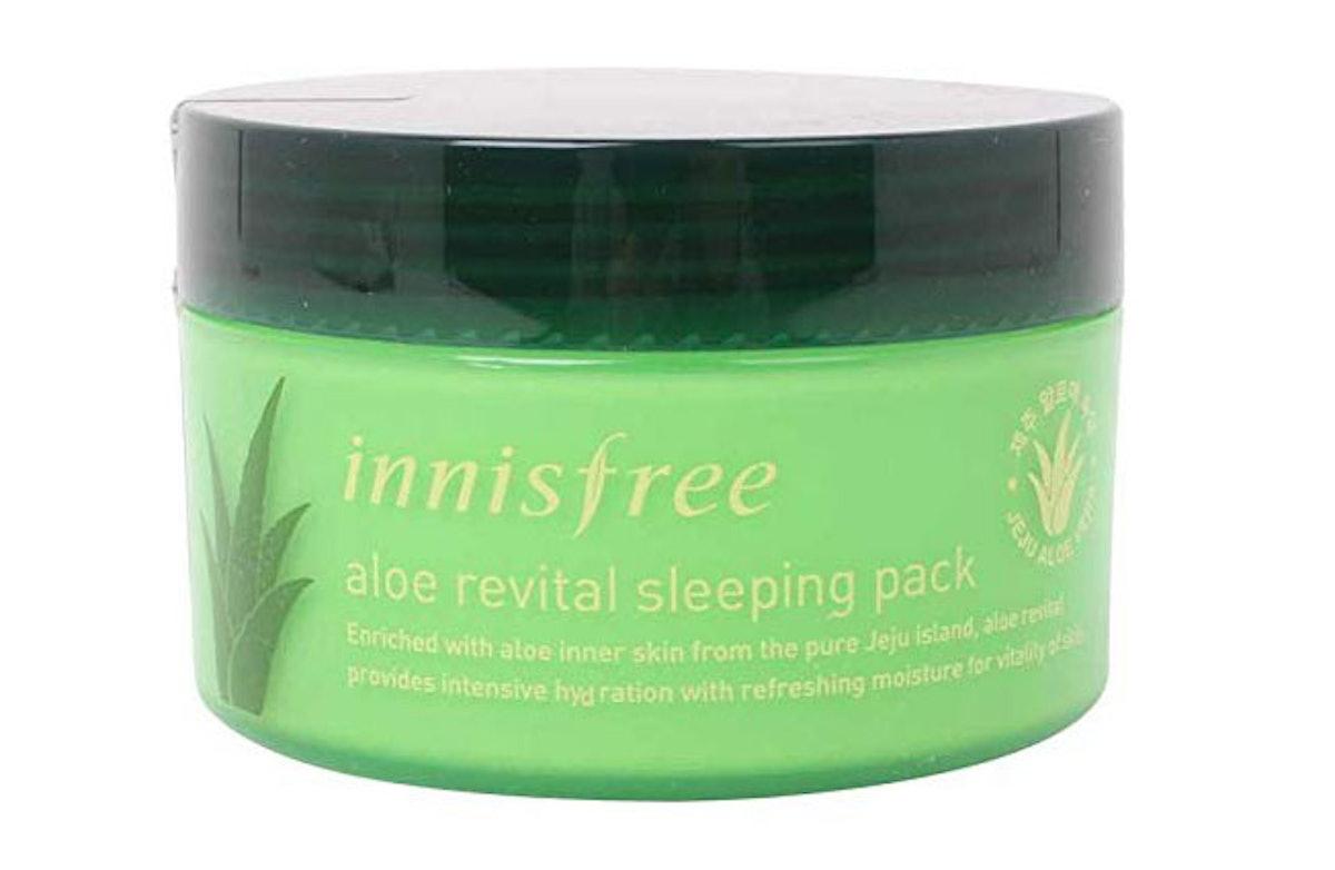 Innisfree Aloe Revital Sleeping Pack, 3.4 Fl. Oz.