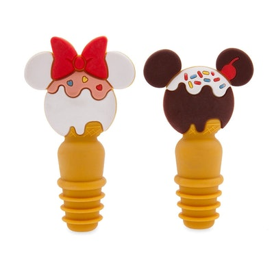 Mickey Mouse and Minnie Mouse Bottle Stoppers