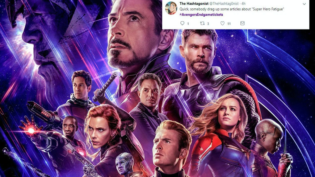 These Tweets About Avengers Endgame Tickets Will Make You Break A