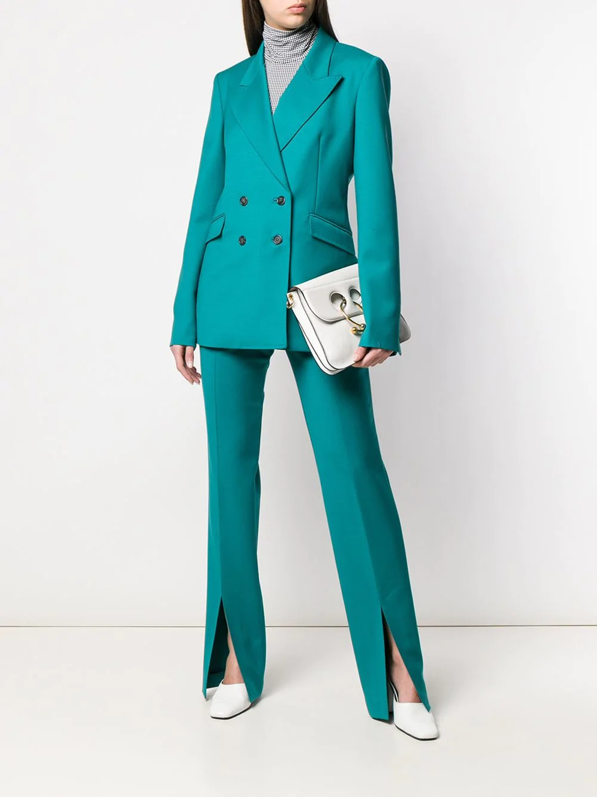 Front-Slit Trousers