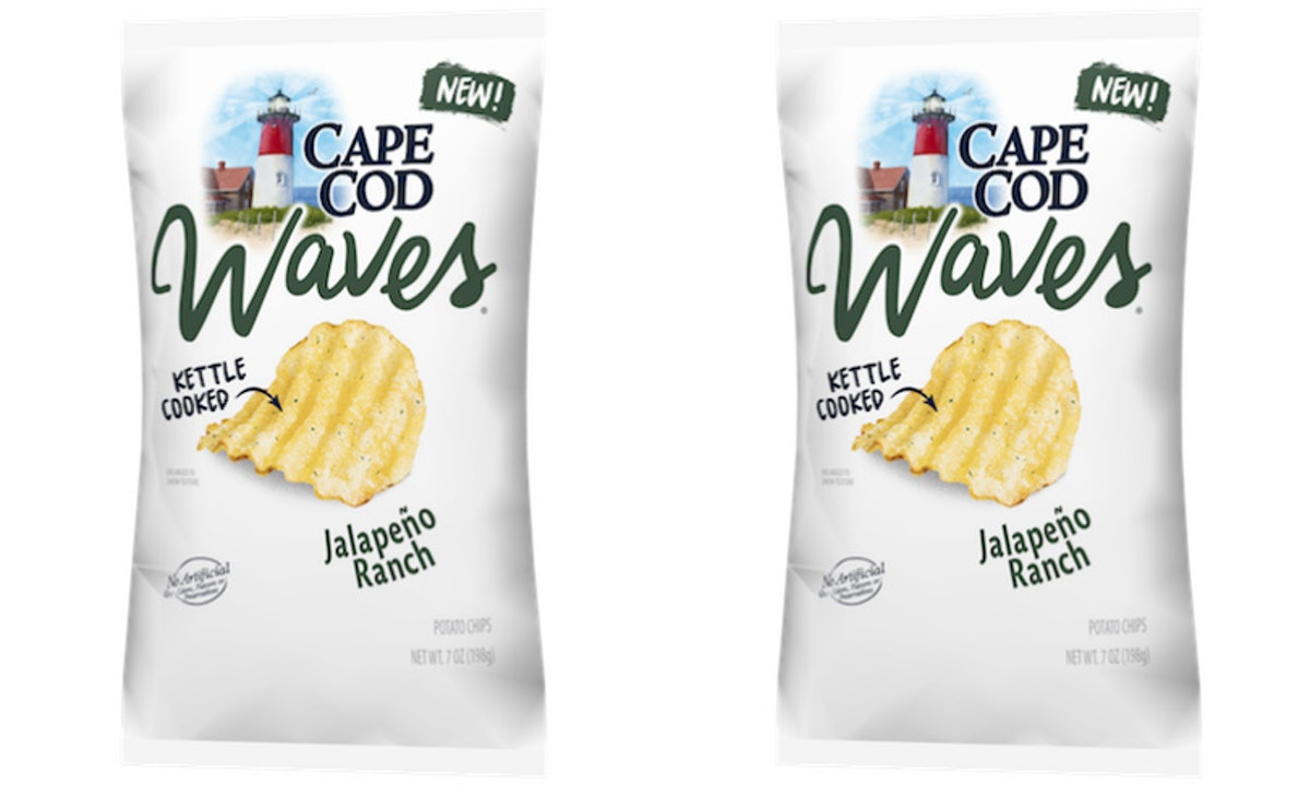 Cape Cod Chips' New Jalapeno Ranch Flavor Is The Perfect Spicy Snack For Summer