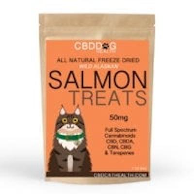 Freeze Dried Salmon Treats
