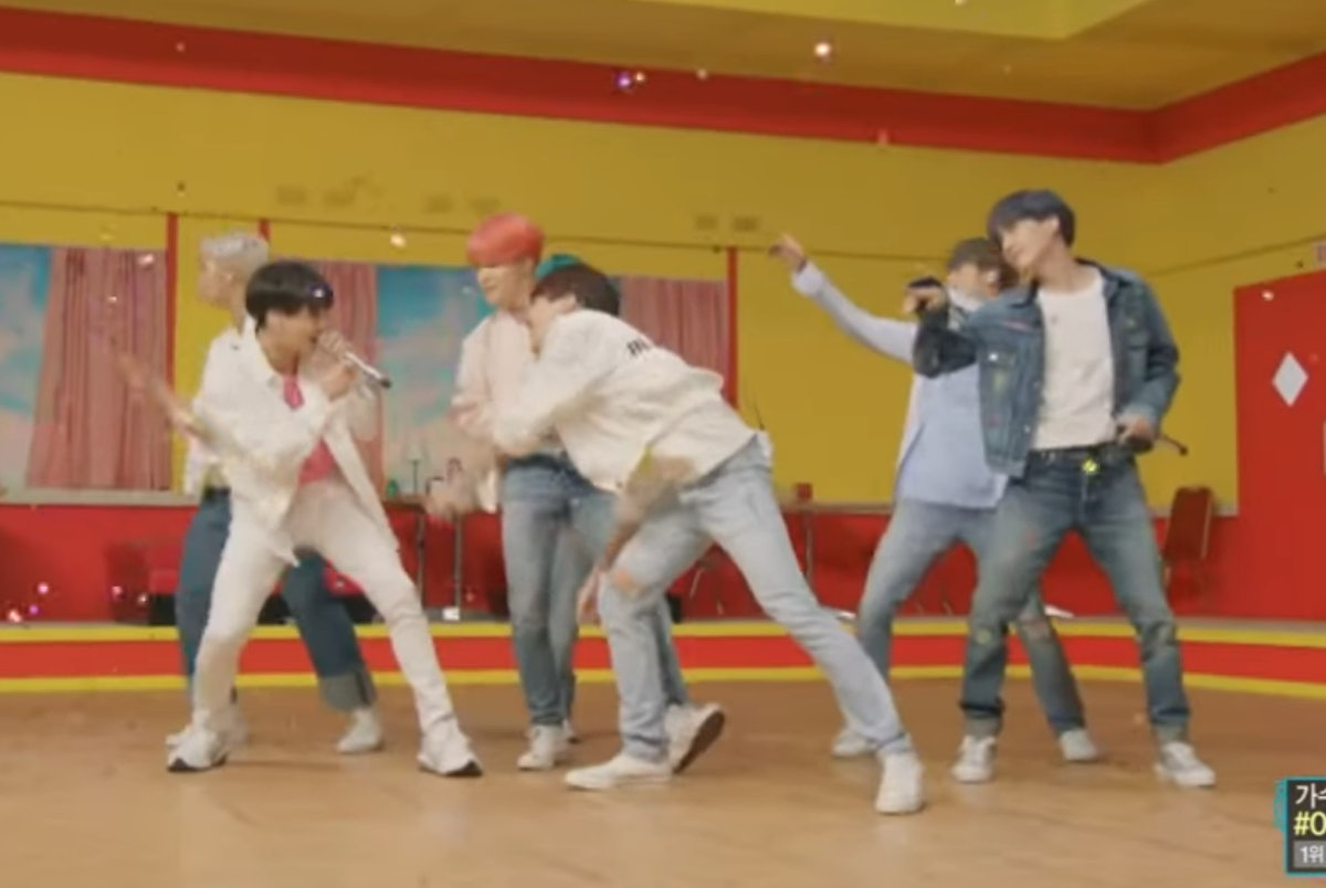 "These Videos Of BTS' 'Music Core' Performances Of ""Boy With Luv"" & ""Dionysus"" Won First Place"