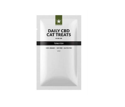 Organic CBD Tuna Flavored Cat Treats