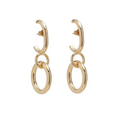 Latch Earring in Gold