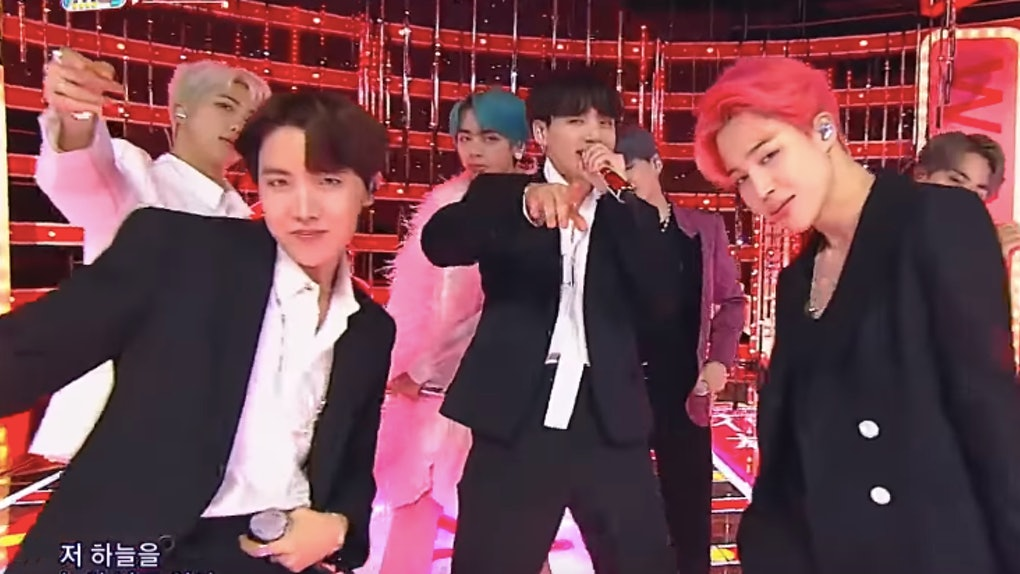 The Videos Of BTS' 'Inkigayo' Performances Of