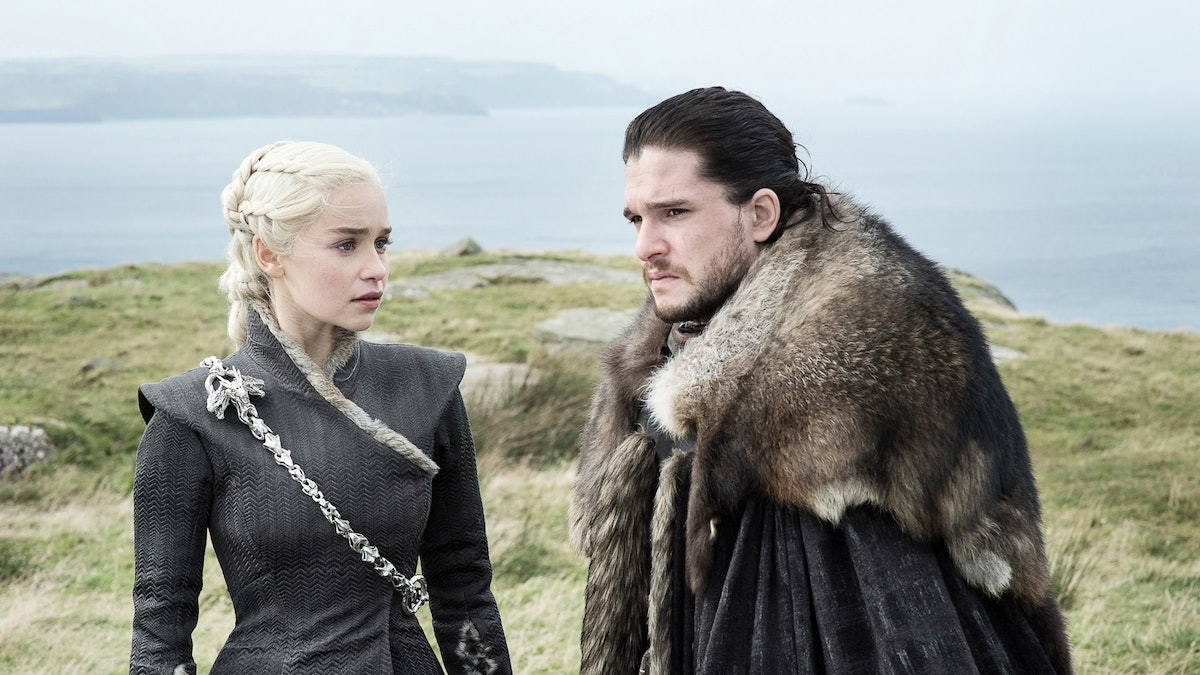 Dany's Reaction To Jon's Being A Targaryean On 'Game Of Thrones' Teases A Struggle For The Iron Throne