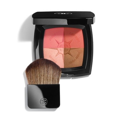 Voyage De Chanel Travel Face Palette Blush and Illuminating Powders