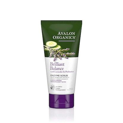 Avalon Organics Brilliant Balance Enzyme Scrub