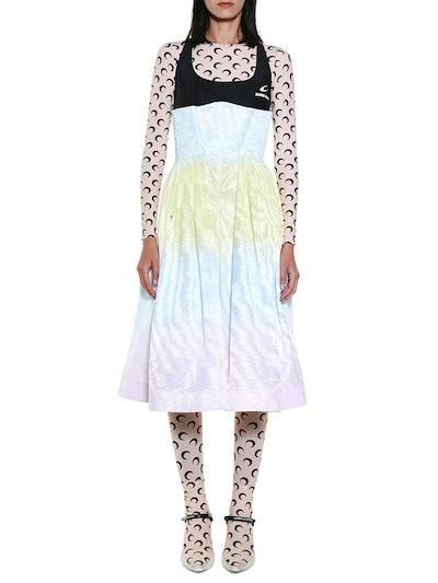 Tie-Dye Hybrid Dress