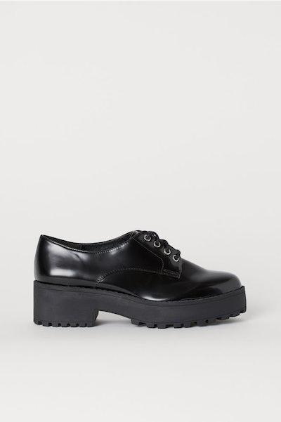 Platform Derby Shoes