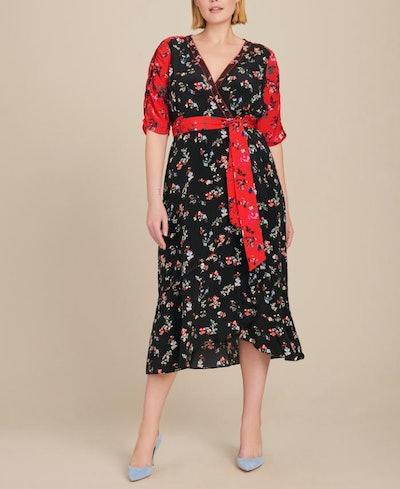Floral Clusters Blaire Dress