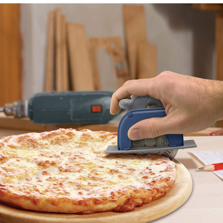Fred & Friends PIZZA BOSS 3000 Circular Saw Pizza Wheel