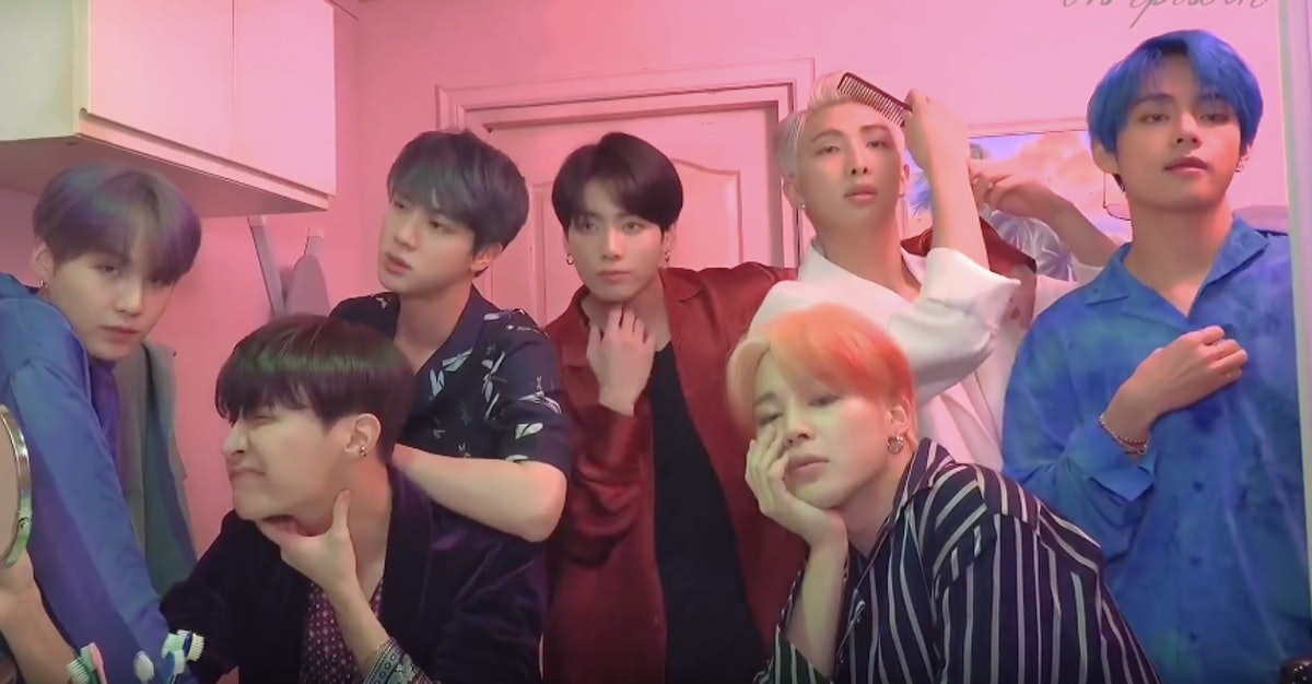 The Behind-The-Scenes Video Of BTS' 'MotS: Persona' Concept Photoshoot Is So, So Beautiful