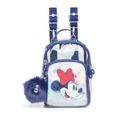 Alber Disney's Minnie Mouse And Mickey Mouse 3-In-1 Convertible Mini Bag Backpack