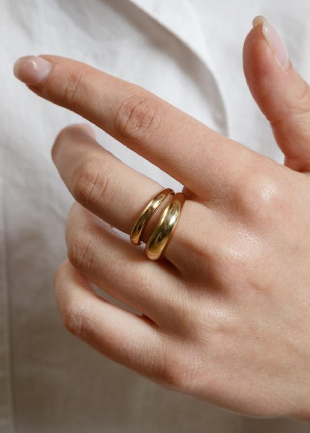 Kori Ring in Gold