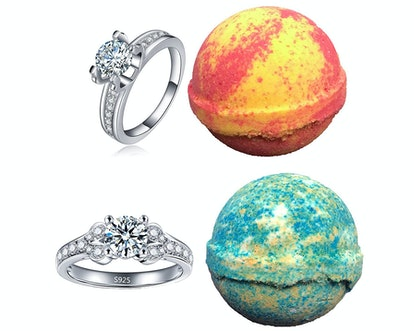 Amor Bath Bombs Ring Bath Bombs (2-Pack)