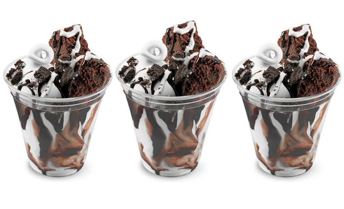 Dairy Queen's Cupfection Sundae With Brownies & Oreos Features A Marshmallow Topping