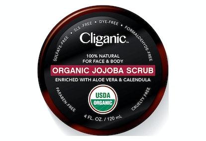 Cliganic Organic Jojoba Scrub For Face & Body